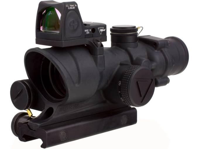 Trijicon Acog Rifle Scope 4x 32mm Led Illuminated Red Crosshair 223