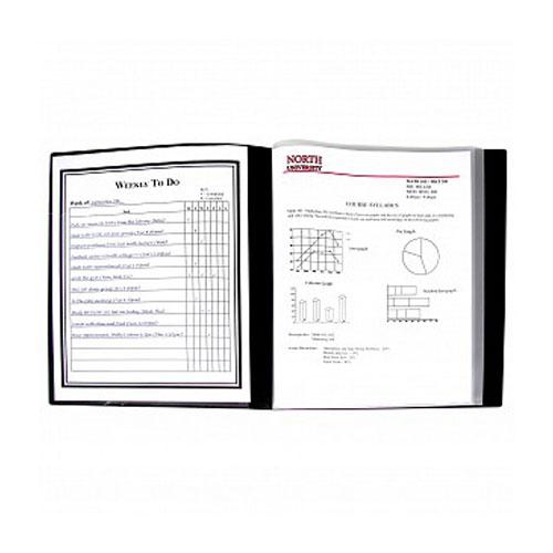 New C-Line 24-Pocket Bound Sheet Protector Presentation