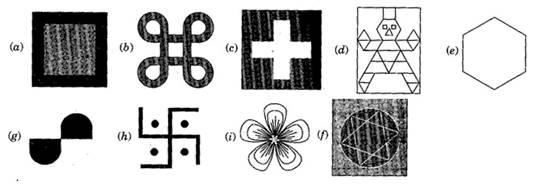 NCERT Solutions class-6 Maths symmetry Ex-13.2
