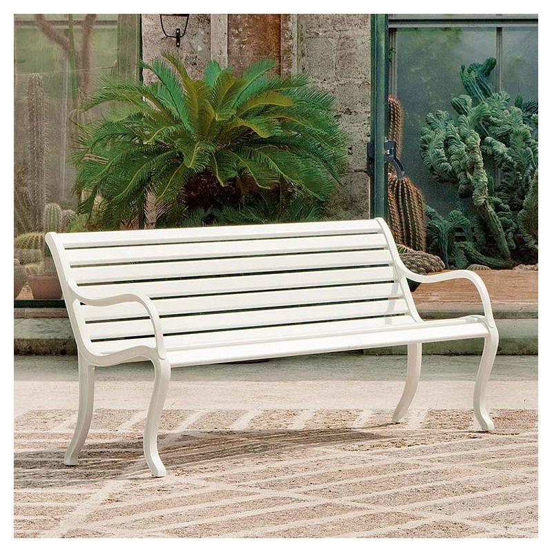 Oasi banc jardin aluminium Fast usage professionnel