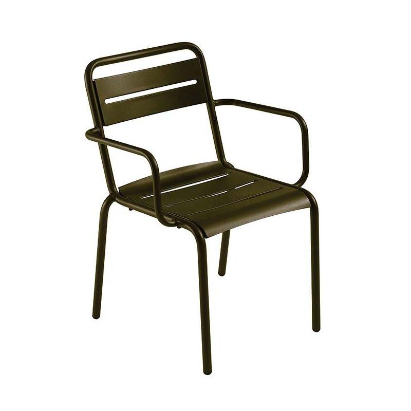 star fauteuil de jardin emu empilable