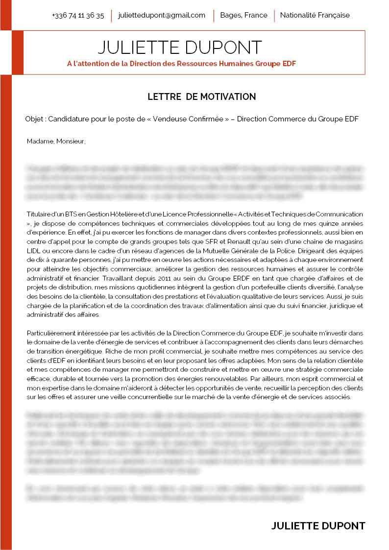 photo lettre de motivation pour edf lettre de motivation