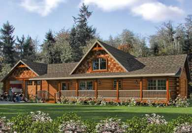 Log Home And Cabin Floor Plans Mywoodhome