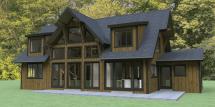 Hybrid Timber Frame House Plans Archives