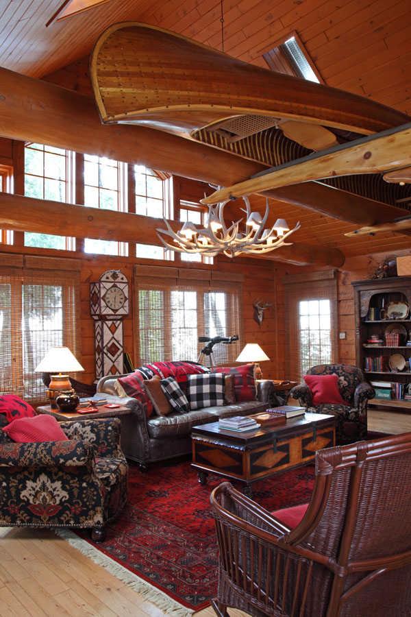 An AdirondackInspired Cabin Remodel