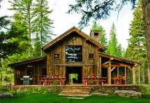 Rustic Barn Home Plans