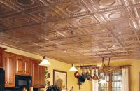 Cabin Design Idea: Tin Ceilings