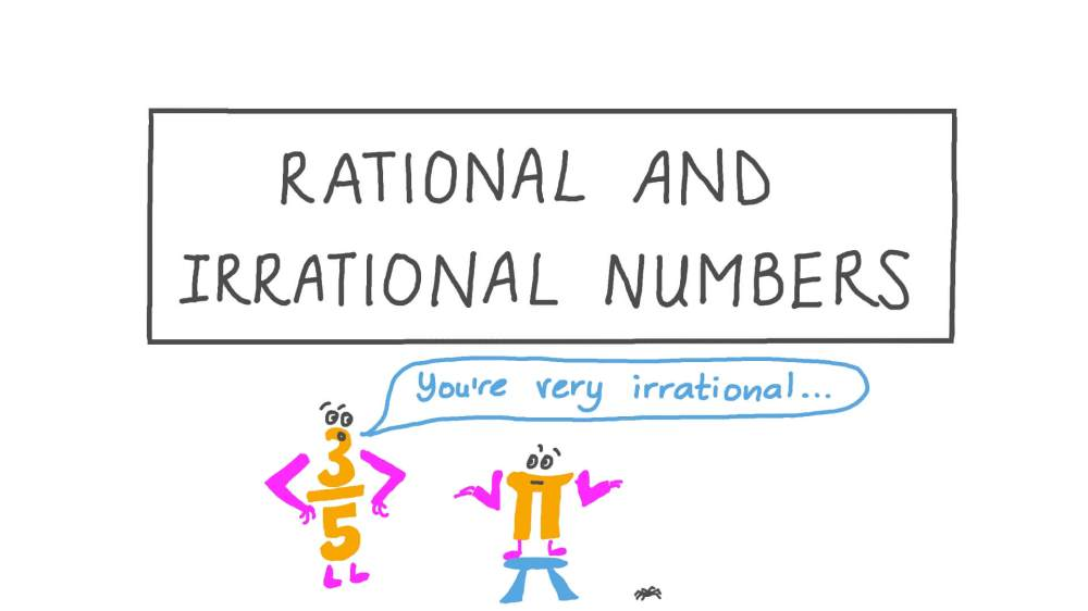 medium resolution of Lesson: Rational and Irrational Numbers   Nagwa