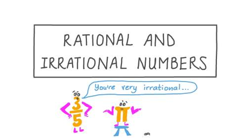 small resolution of Lesson: Rational and Irrational Numbers   Nagwa