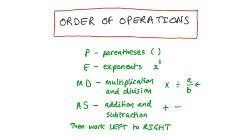 small resolution of Lesson: Order of Operations: Evaluate Numerical Expressions   Nagwa
