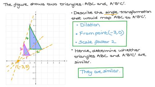small resolution of Question Video: Determining Whether Two Shapes are Similar   Nagwa