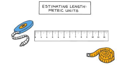 small resolution of Lesson Video: Estimating Length: Metric Units   Nagwa