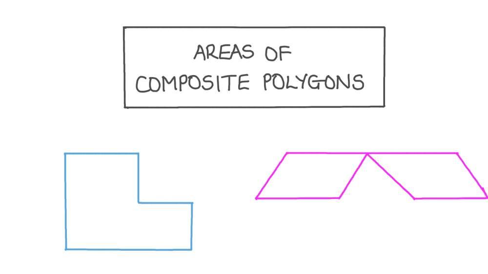 medium resolution of Lesson: Areas of Composite Polygons   Nagwa