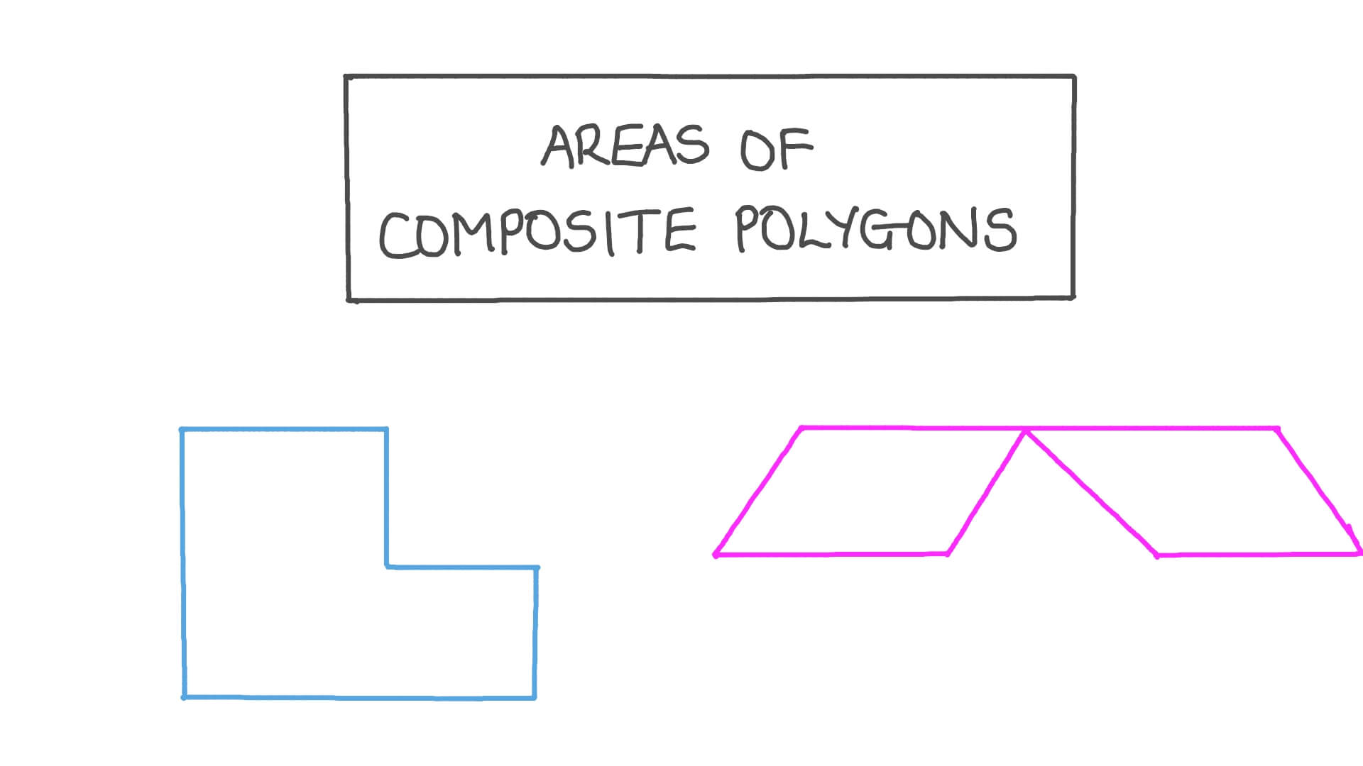 hight resolution of Lesson: Areas of Composite Polygons   Nagwa