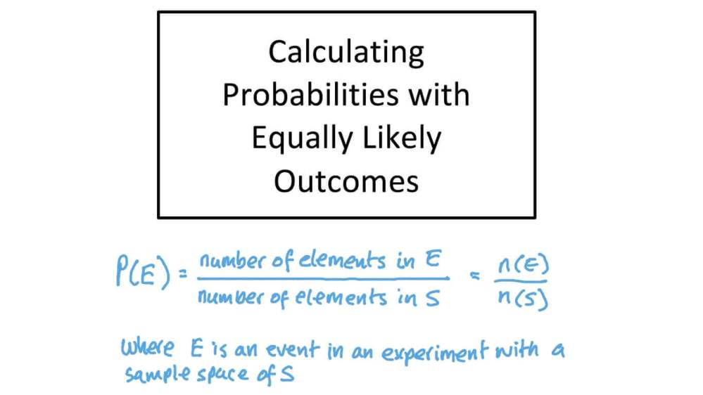 medium resolution of Lesson: Probability of Simple Events   Nagwa