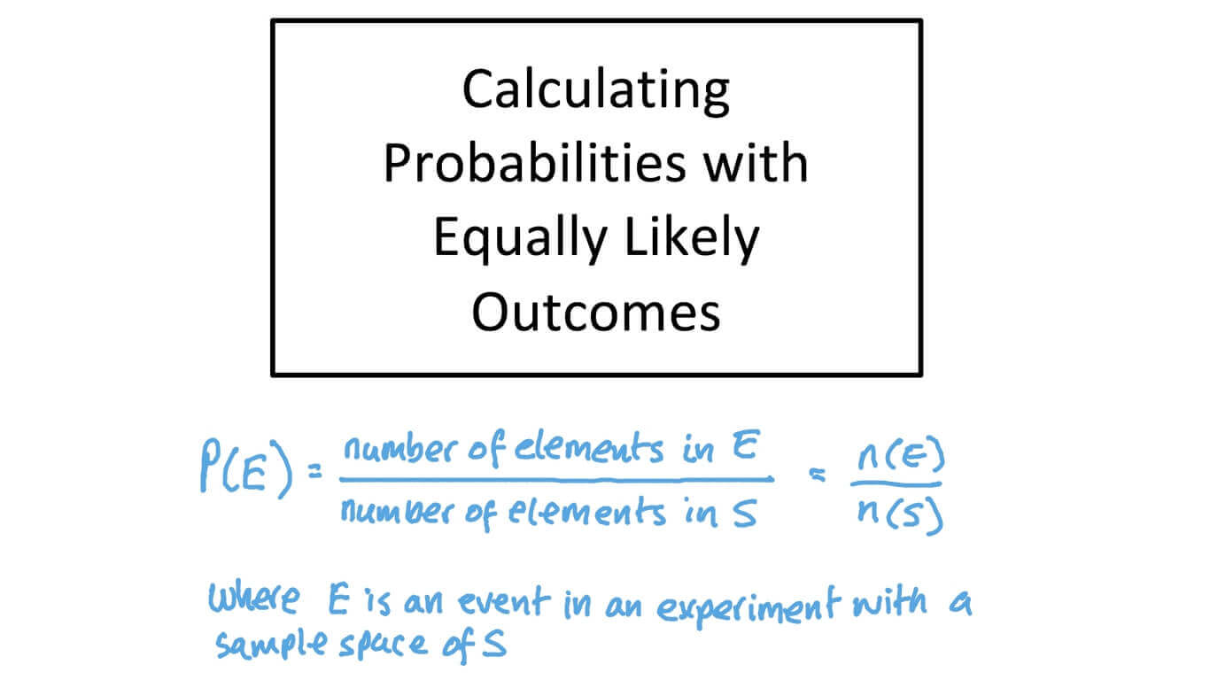 hight resolution of Lesson: Probability of Simple Events   Nagwa