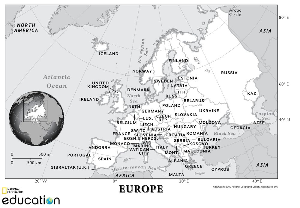 medium resolution of europe human geography