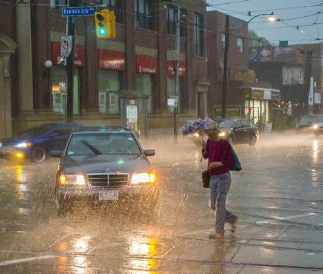 Torrential Summer Rain In Toronto May Be A Harbinger Of Future Weather In North America