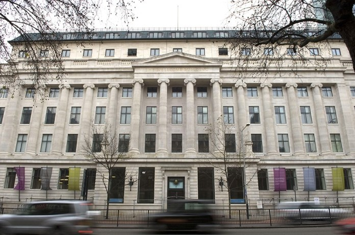 Headquarters of the Wellcome Trust in London