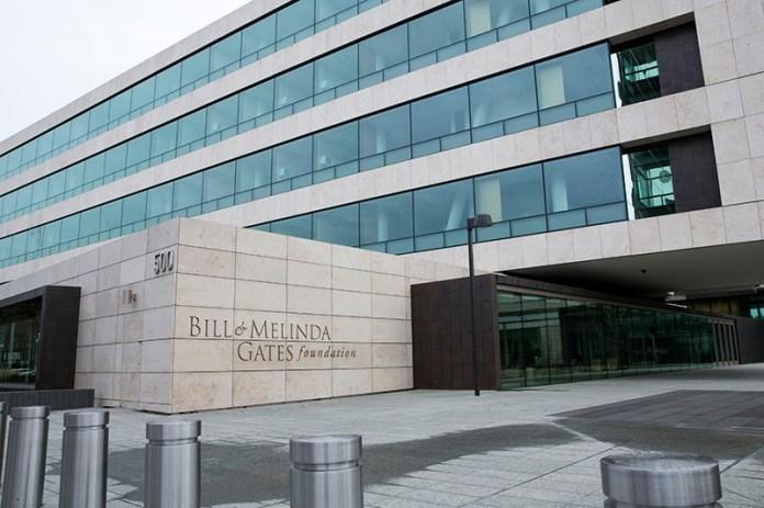 The Bill and Melinda Gates Foundation in Seattle, Washington