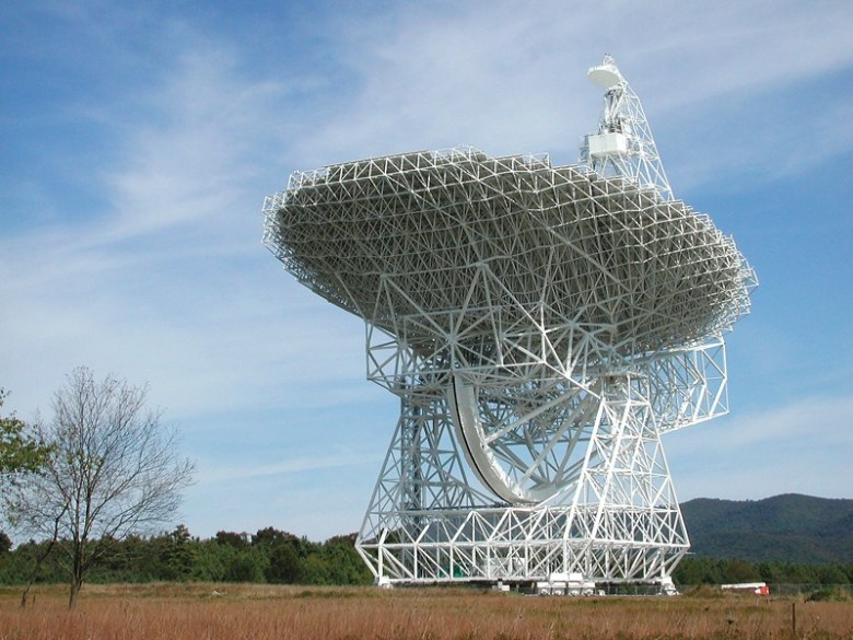 100-metre Green Bank Telescope, West Virginia, USA