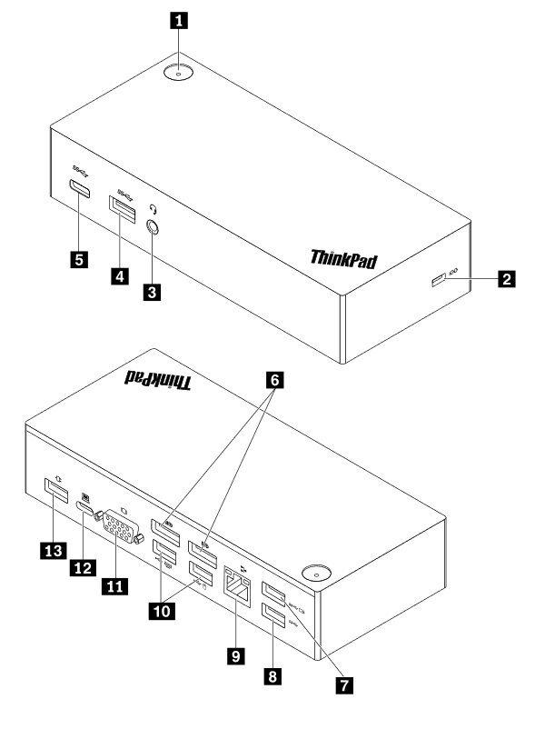 Lenovo ThinkPad USB-C Dock bei notebooksbilliger.de