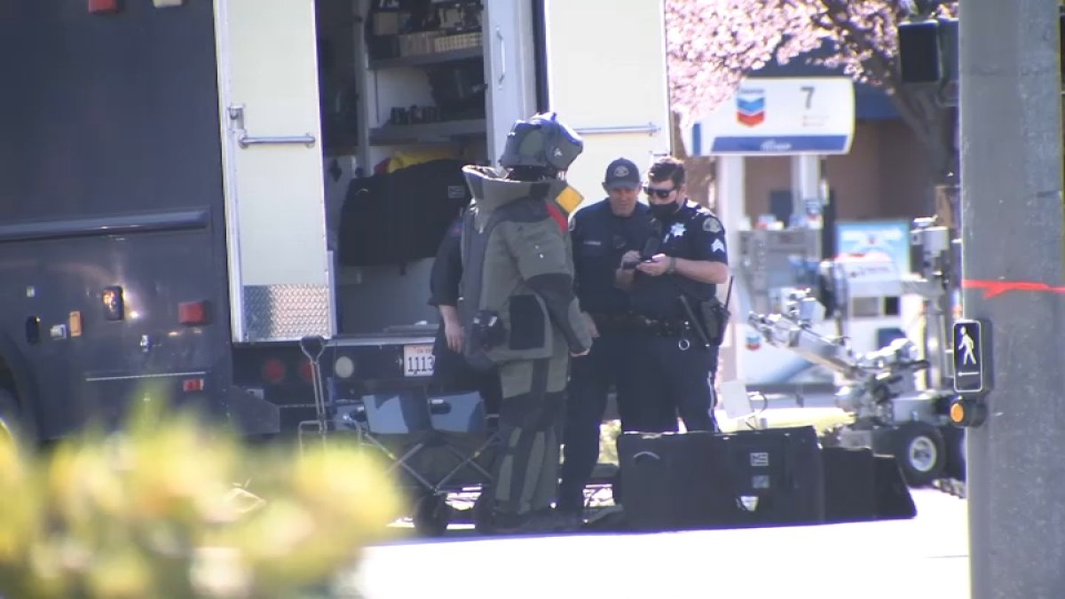 Police Nab Would-Be Bank Robber in San Jose, Bomb Squad Responds - NBC Bay Area
