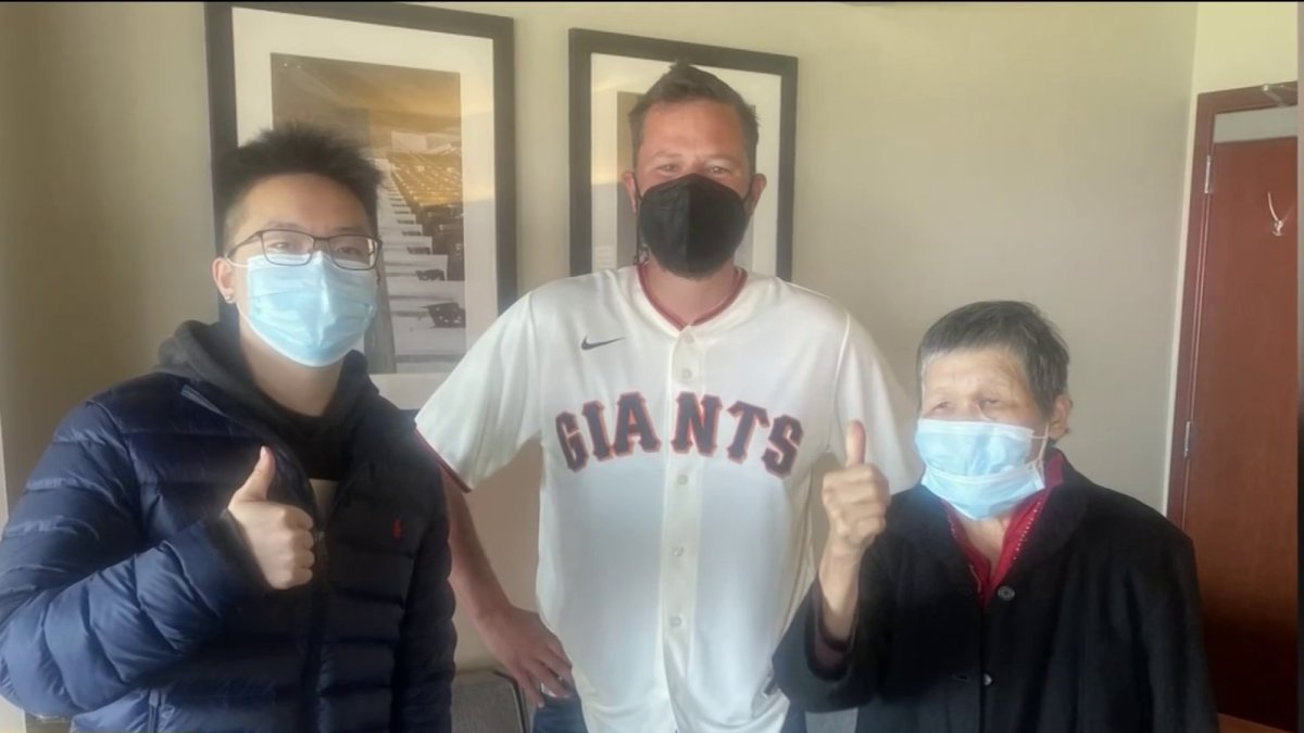 www.nbcbayarea.com: Giants Honor Asian American Grandmother Attacked in San Francisco