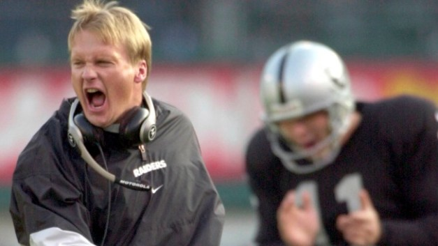 Image result for jon gruden chucky picture