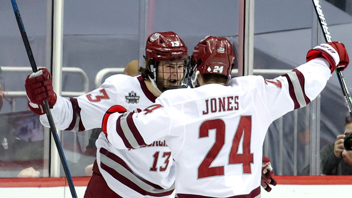 UMass Wins Its First NCAA Hockey Championship in Dominant Frozen Four Final