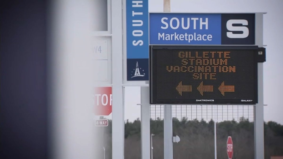 Gillette Stadium Mass Vaccination Site to Shut Down Monday