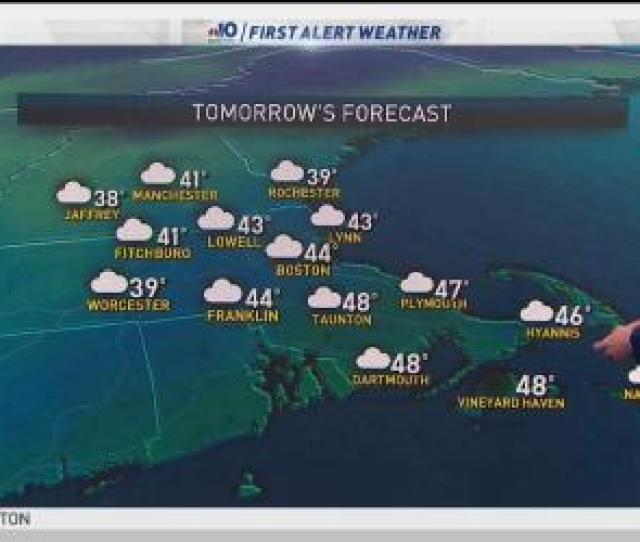 Tuesday Night Clouds Thicken Steady Or Rising Temps Into The Upper