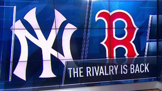 Yankees Red Sox Benches Clear