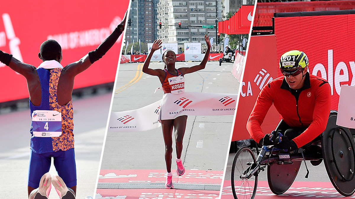 The Biggest Moments From the 2019 Chicago Marathon – NBC ...