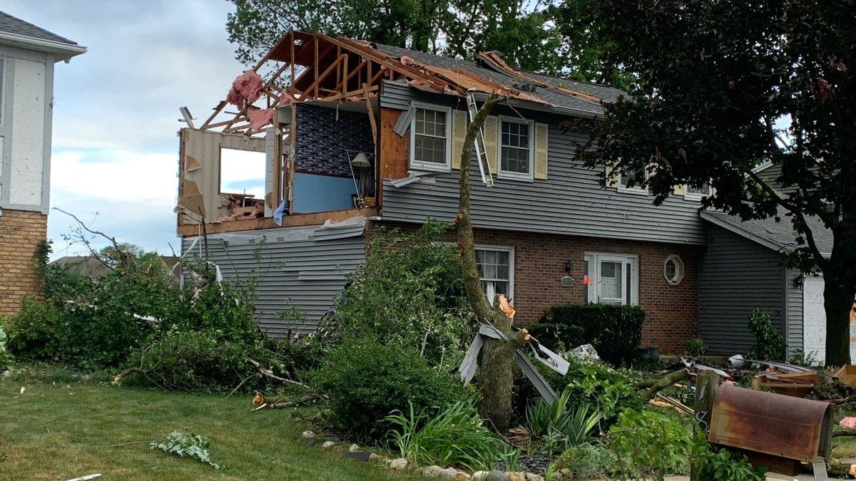 Naperville Tornado: 6 Injured, 16 Homes Uninhabitable in Widespread Damage After Major Storms