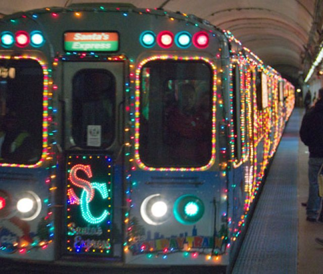 See The Full Schedule For Ctas Holiday Train And Bus