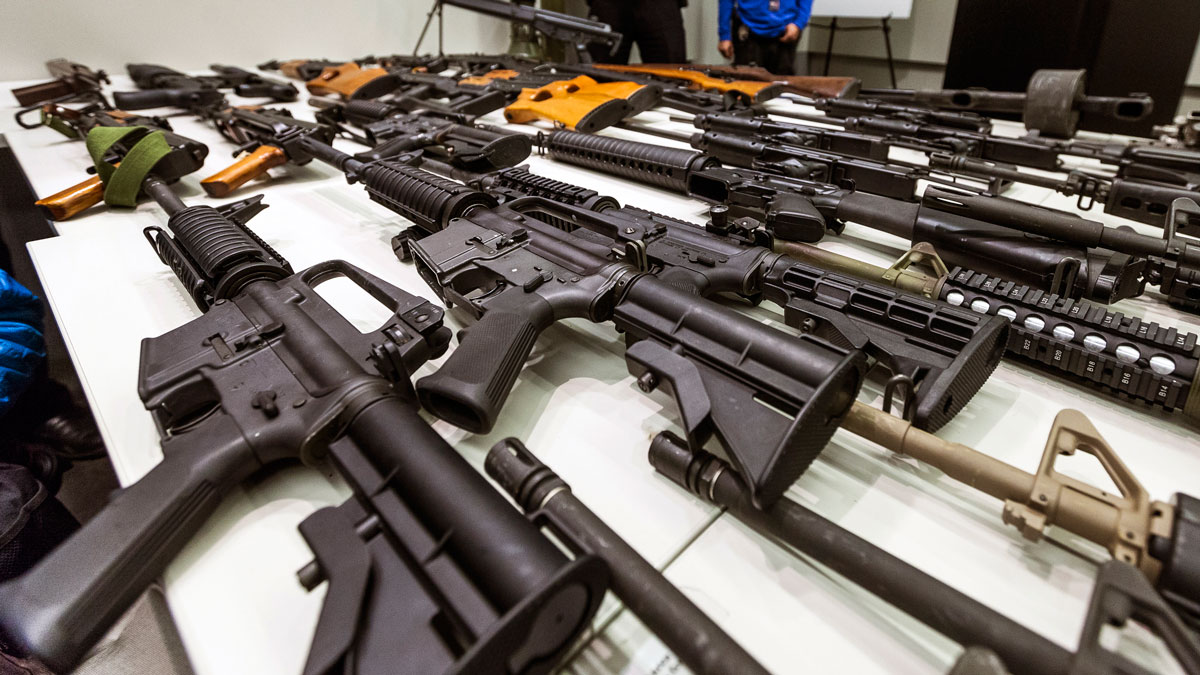US Military Guns Keep Vanishing, Some Used in Street Crimes – NBC Connecticut