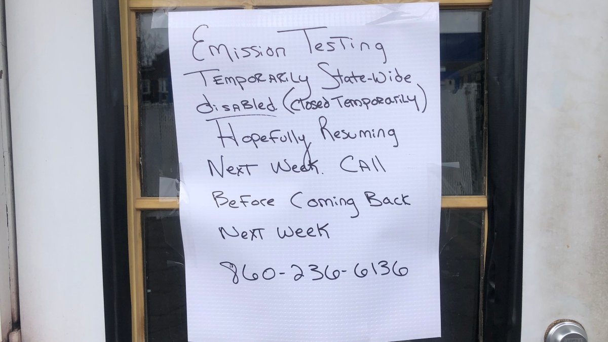 CT Emissions Test System: What You Need to Know During Ongoing Outage