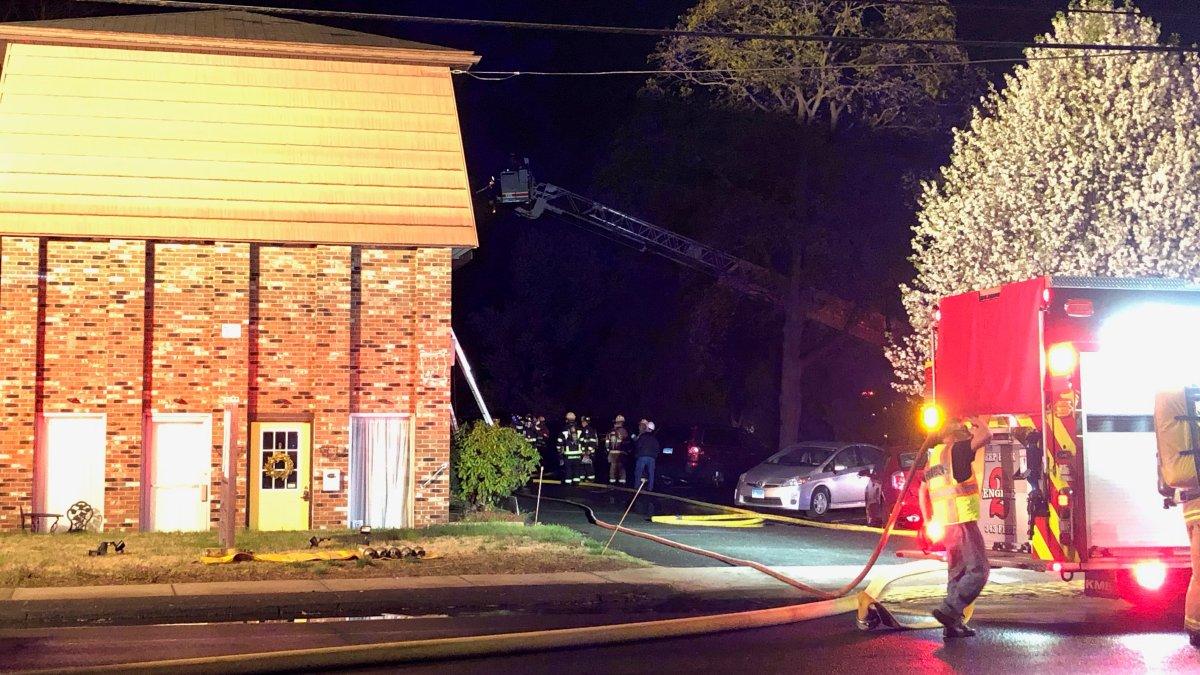 Crews Battle Structure Fire in Plainville