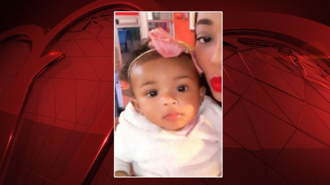 An Amber Alert was issued Monday evening for an 8-month-old girl from Mesquite, authorities say.