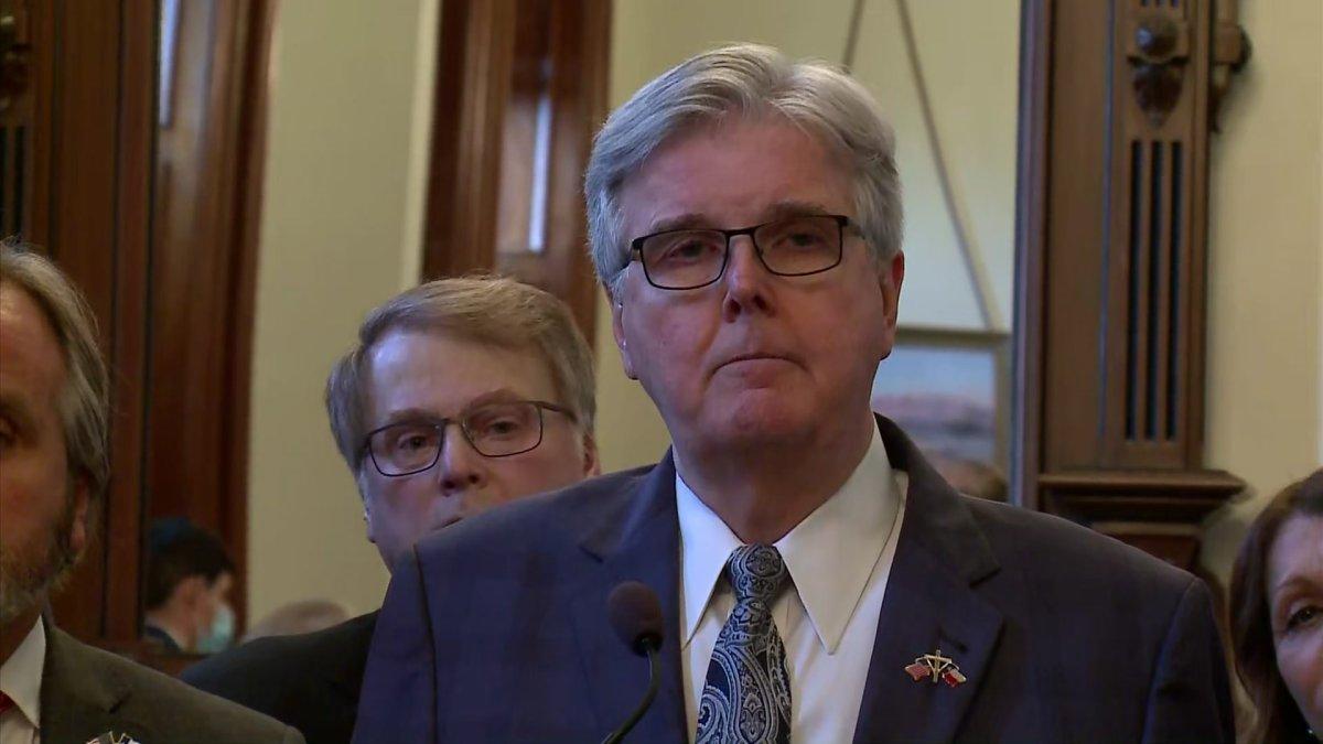 Lt. Gov. Dan Patrick Discusses Texas' Election, Ballot Security Bill