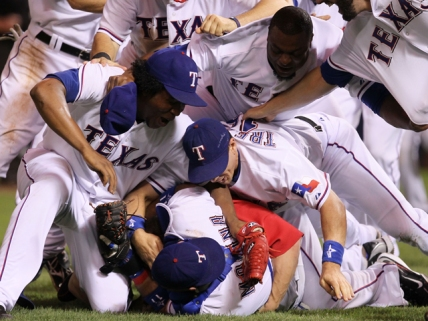 Full Story on Rangers ALCS Win