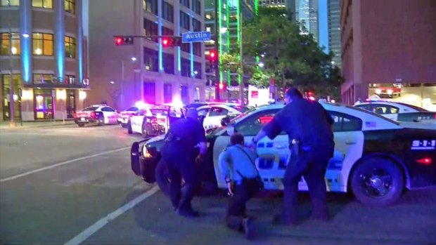 First Seconds: Protest Erupts into Gunfire