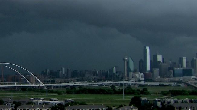 Thunderstorm Moves Through North Texas NBC 5 Dallas Fort