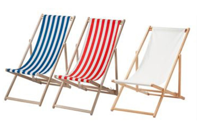 ikea folding chair swivel wicker chairs recalls beach due to fall and fingertip amputation hazards
