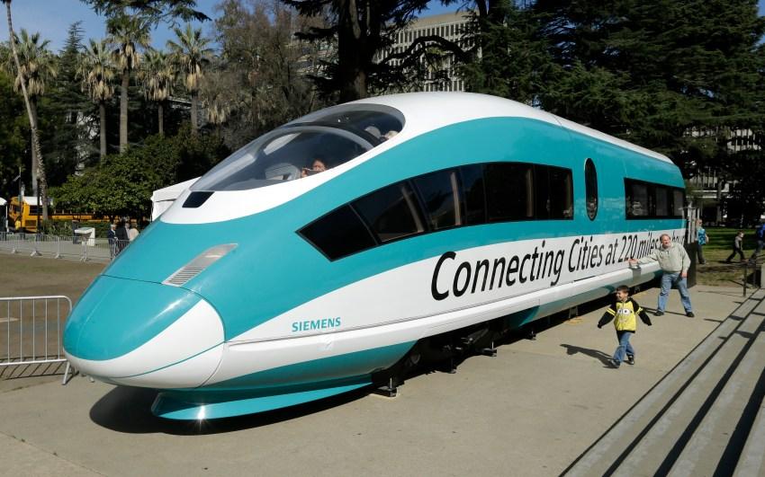 California bullet train delayed 2 years