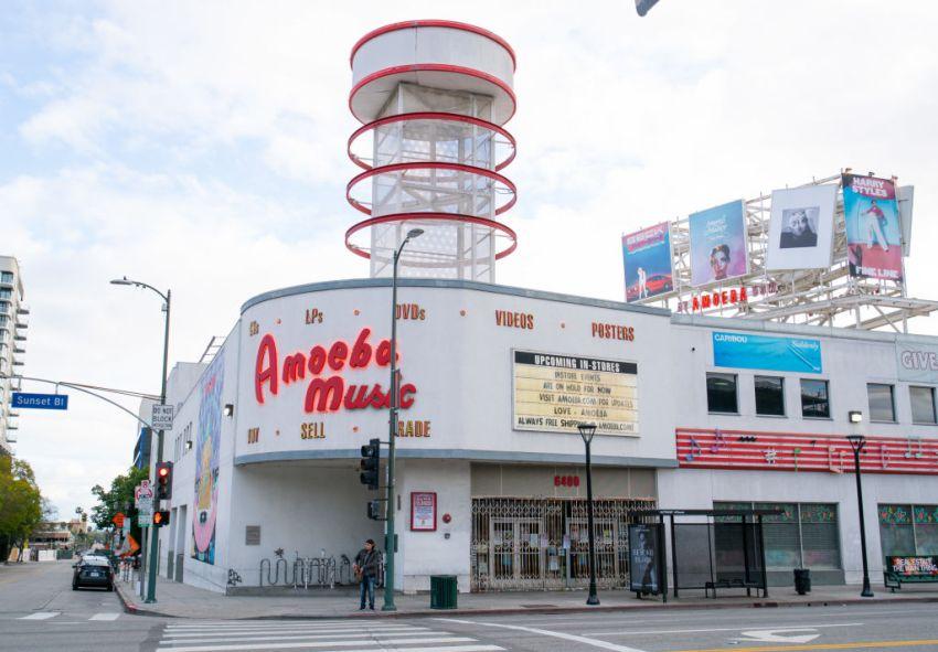 Grand Reopening Amoeba Music  After Year-Long Closure 4/2/21