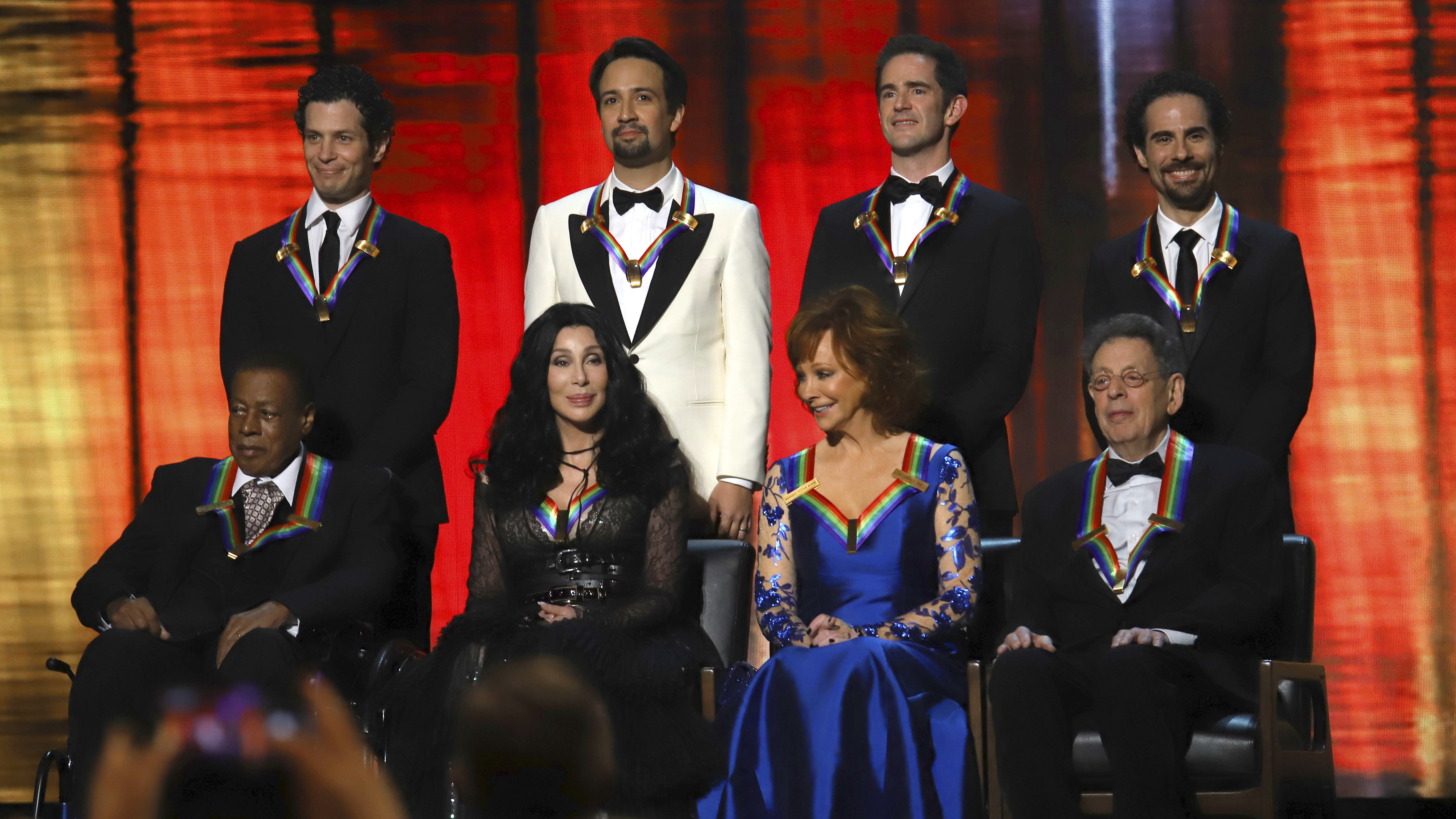 Kennedy Center Honors Program Opens With Applause For Bush