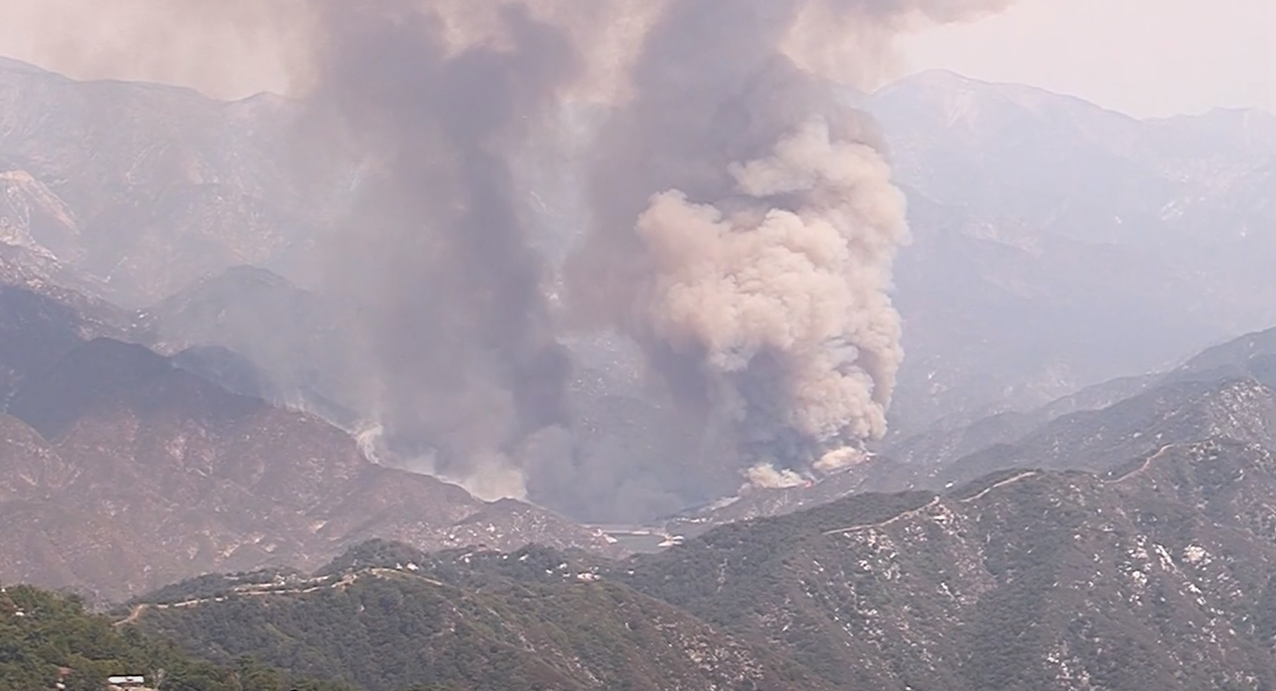 Angeles National Forest To Close As Fire Grows To 4 800