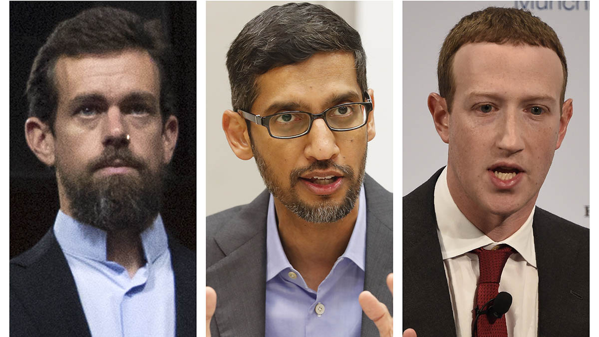 Lawmakers Press Big Tech CEOs on Speech Responsibility 1